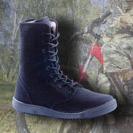 Кеды тактические (на молнии) льняные ЛМ-5ч