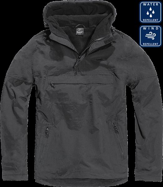 Уточнять наличие - Утеплённая куртка-виндстоппер Комбат анорак (цвет чёрный)