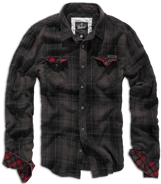 Checkshirt Duncan - 100% хлопковая рубашка торговой марки Brandit - Уточняйте наличие