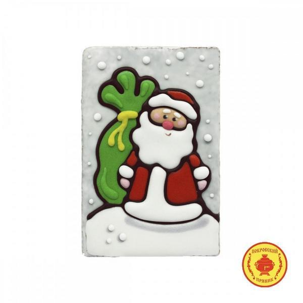 """Пряник ручной работы """"Дед мороз"""""""