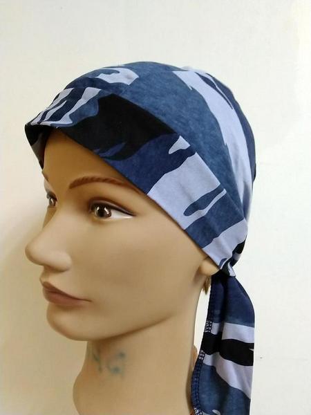 Бандана камуфляжная синий камыш