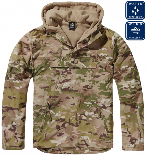 Уточнять наличие - Утепленная куртка-виндстоппер комбат-анорак Multicam (tactical camo)