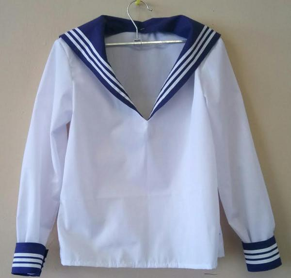 Фланка взрослая - морская рубаха