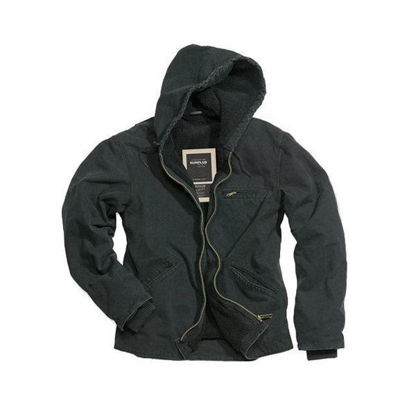 Stonesbury Jacket с утепленной подкладкой (черная)