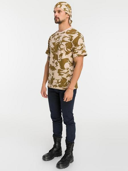 ККомплект футболка+бандана расцветки DPM мужской