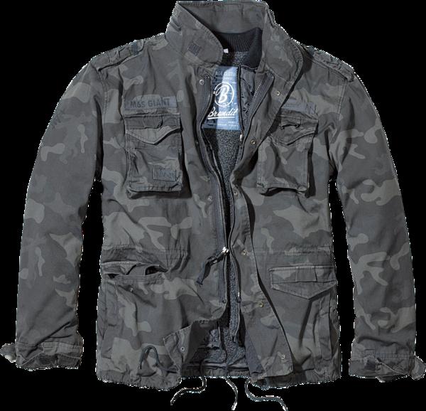 Уточнять наличие - Куртка M-65 giant dark camo