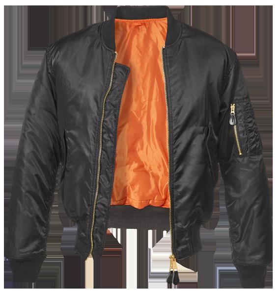Куртка MA1 чёрная - Уточнять наличие