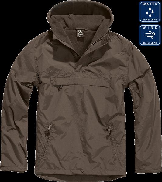 Уточнять наличие - Утепленная куртка-виндстоппер Комбат анорак (цвет коричневый)