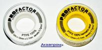 """Фум-лента малая """"ProFactor"""" желтая     Арт. FE 533"""