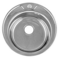 Мойка врезная 490 круглая (0,6 мм) глубина 170мм