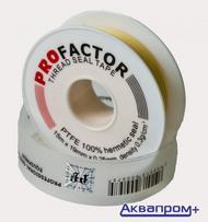 "Фум-лента большая ""PROFAСTOR"" желтая    Арт.FE 531"