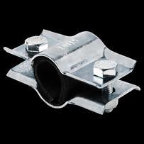 Ремонтный хомут ф 40  L=65мм   2/сторонний   сталь