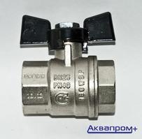"""Кран шаровой  1"""" ггб BUGATTI  302 (10)"""