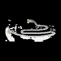 Цепочка для ванны (L=50см) латунь/хром