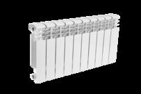 Радиатор алюминиевый 350х80  10 секций ЗВЕЗДА