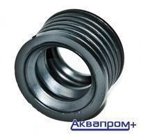 Манжета резина D  40х32 черная