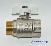 """Кран шаровой PF STANDARD    3/4"""" в/н баб. (10/80)"""