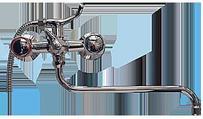 Ванна KEIL керамика ABS 50545, мет. маховик