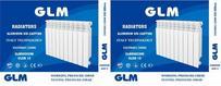 Радиатор алюминиевый 500х80  6 секций GLM