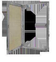 Нажимной люк под плитку Stels 50х50
