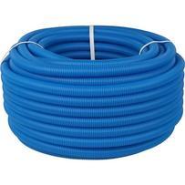 Труба гофрированная ПНД, d-20мм (вн.d 14-18) синяя