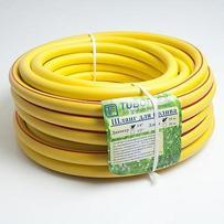 Шланг полив.   3/4  армир. 25м желтый TUBOFLEX