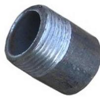 Резьба сталь Ду50 L=35из труб по ГОСТ 3262-75