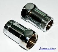 """Соединение прямое для полотенцесуш. 3/4""""-3/4"""" гг"""