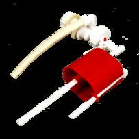 Клапан для бачка боковой  универс. РБМ