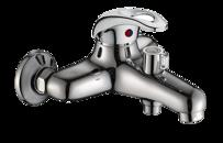 Смеситель для ванны ORTA MOSEL/SPARTA 40156 ф40 короткий нос