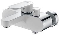 Смеситель для ванны ORTA SIRA 40645W 40мм короткий нос, хром/белый