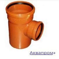 ПВХ Тройник 160х110х90 наружняя канализация (6)