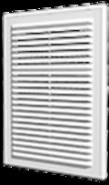 Решетка вент. 150*150   Эра (1515Р) Бел. АБС