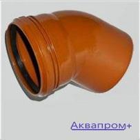 ПВХ Отвод 110х30 наружняя канализация (20)