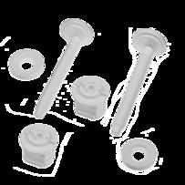 Крепление крышки унитаза К-2   (100)