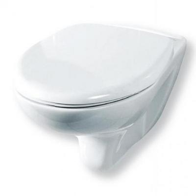 Унитаз подвесной Элеганс бел дюропласт Soft close