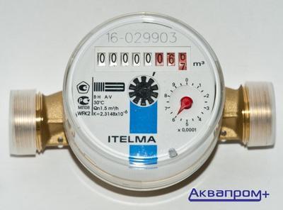 Счетчик D15  Ителма (хол. вода) WFК20.D110