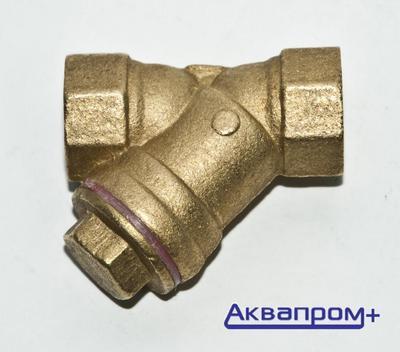 Фильтр    1/2 сетчат. (латун.) c ушком (Россия)