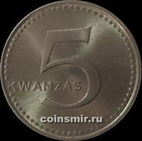5 кванз 1975 Ангола.