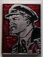 Значок В.И.Ленин. Профиль.