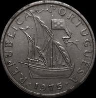 5 эскудо 1975 Португалия.