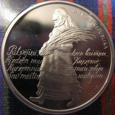 1 лат 2008 Латвия. Фестиваль песен.