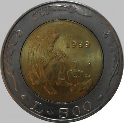 500 лир 1989 Сан-Марино. История.