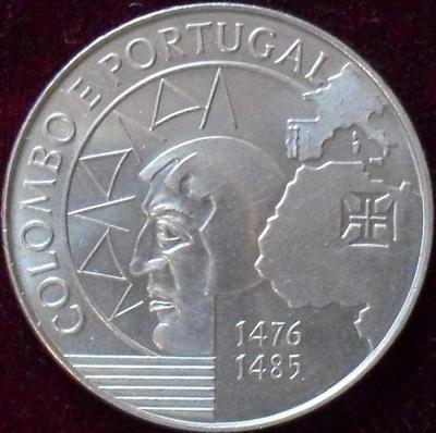 200 эскудо 1991 Португалия. Колумб.