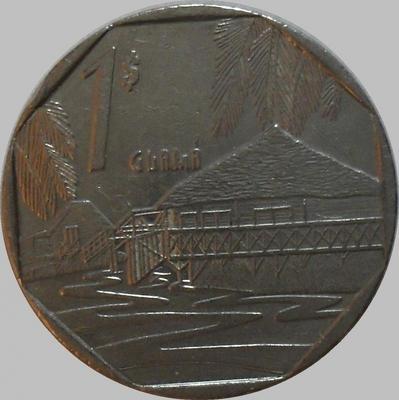 1 песо 1994 Куба. KM# 579