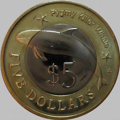 5 долларов 2012 Микронезия.