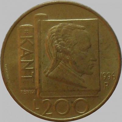 200 лир 1996 Сан-Марино. Кант.