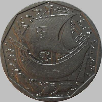 50 эскудо 1988 Португалия.