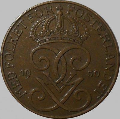 5 эре 1950 Швеция.