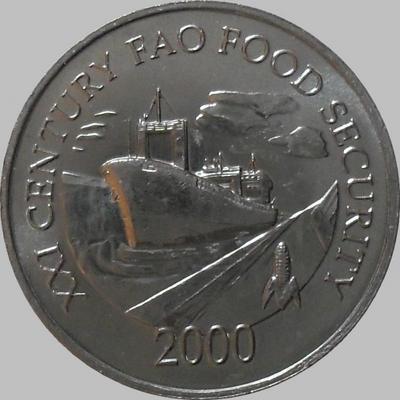 1 сентесимо 2000 Панама. ФАО.